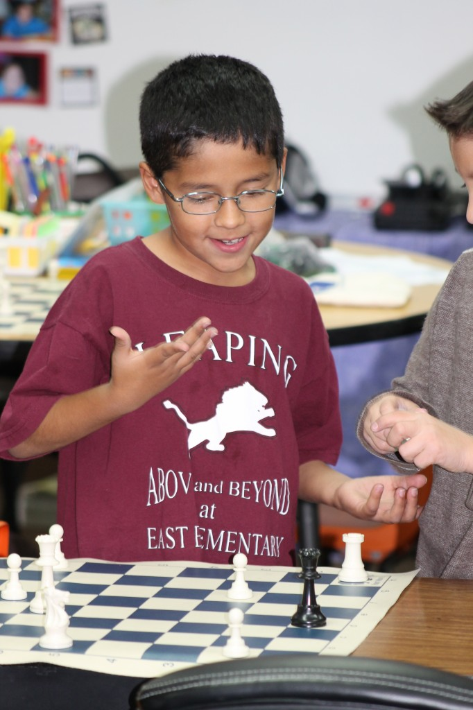 East Elementary Chess Photo